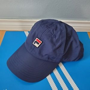FILA snapback dad hat